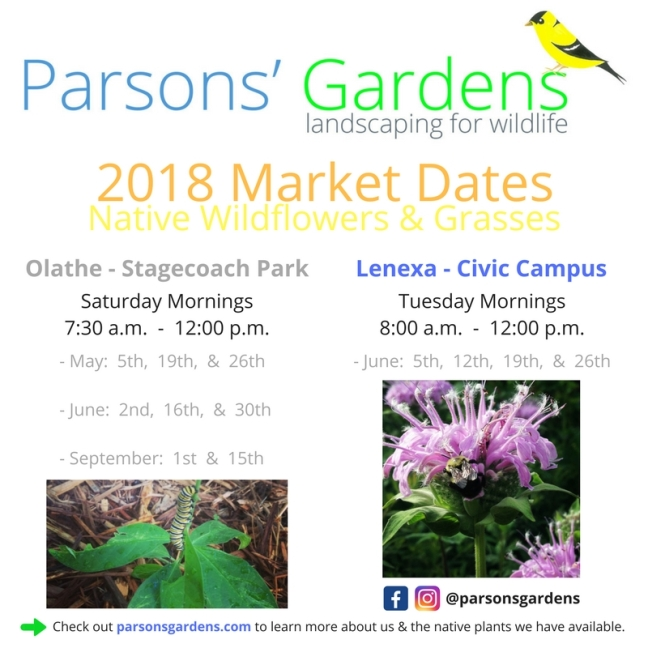 2018 Market Dates